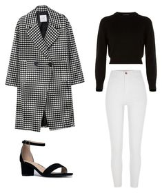 """MY LOOK #1"" by demeryjaguar on Polyvore featuring MANGO, River Island, Helmut Lang and J. Adams"