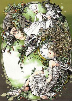 Odd anime Kitchen Girls by Tukiji Nao