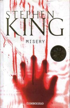Misery by Stephen King Book Cover #Books