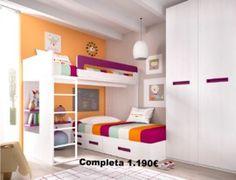 Antea Mobles: Muebles para habitaciones con literas en Valencia