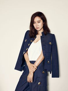Gong Hyo Jin in Marie Claire Taiwan May 2015