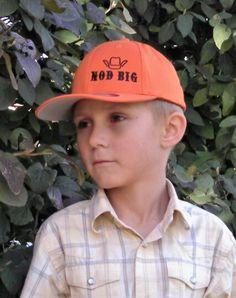 Youth caps Stacked logo www.nodbig.com  #nodbig #nodbigapparel #capsrock #rodeo