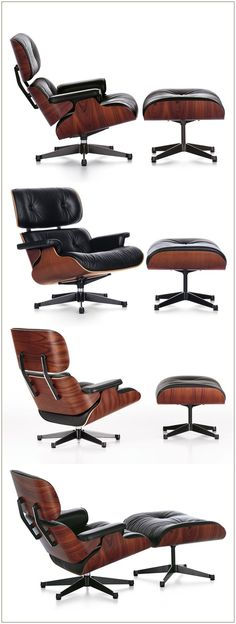 Lounge Chair / Charles Eames / 1956 I have one!- Lounge Chair / Charles Eames / 1956 I have one! Lounge Chair / Charles Eames / 1956 I have one! Charles Eames, Chair Design, Furniture Design, Deco Zen, Muebles Living, High Quality Furniture, Chair And Ottoman, Chair Cushions, Chair Pads