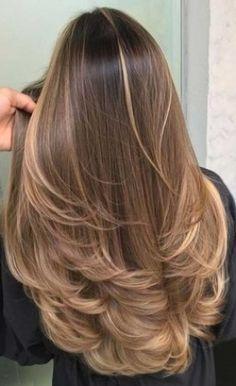 Brown Hair Balayage, Hair Color Balayage, Caramel Blonde Hair, Caramel Brown Hair, Balayage Straight Hair, Honey Brown Hair, Blonde Honey, Hair Color Caramel, Balayage Brunette