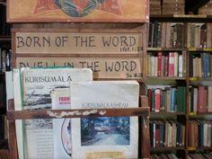 The Library at Kursumala Ashram. Photo by Hadrian Mar Elijah Bar Israel. Throat Chakra, The Monks, Our Lady, Mood Boards, Israel, Bar, Words, Horses
