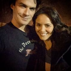 Ian Somerhalder - 01/04/16 - cwtvd is back with an episode directed by iansomerhalder - the man. Tune in on @TheCW 8/7c #thevampirediaries https://twitter.com/IAmLAHuff/status/715915644365983744 - Twitter / Instagram Pictures