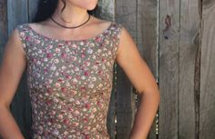 Items similar to Simple cotton summer day shift dress in olive green with vintage styled lilac, pink and creme floral pattern. Casual or smart on Etsy Desert Fashion, Lilac, Pink, Tank Man, Vintage Fashion, Style Inspiration, Tank Tops, Trending Outfits, Colors