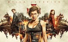Milla Jovovich, Ali Larter e gli altri protagonisti di Resident Evil: The Final Chapter nei nuovi characters poster Resident Evil, Albert Wesker, Ali Larter, Blade Runner, Hollywood Sci Fi Movies, Power Rangers, Game Of Survival, Survival Prepping, Best Action Movies