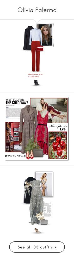 """Olivia Palermo"" by bliznec-anna ❤ liked on Polyvore featuring Victoria Beckham, Delpozo, Michael Kors, OliviaPalermo, victoriabeckham, polyvorefashion, ESCADA, Three Floor, Gianvito Rossi and winterstyle"