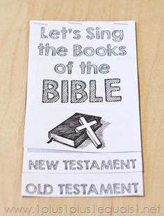 The bible 111745634481703521 - Books of the Bible Song Printables – Source by lesleijune Bible Songs For Kids, Preschool Bible Lessons, Bible Activities For Kids, Bible Crafts For Kids, Bible Study For Kids, Bible Lessons For Kids, Preschool Books, Youth Lessons, Bible Resources