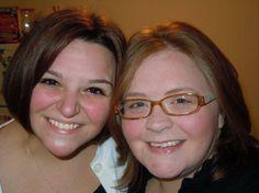 Angela and Kayla