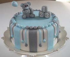 baby shower cake- but butter cream instead of fondant. The stripes and stuff can be done in BC too.