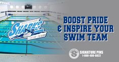 Boost pride and inspire your swim team members with custom lapel pins! http://www.signaturepins.com/2013/03/swim-team-lapel-pins/  #SignaturePins #SwimTeams #BoostTeamPride #InspireSwimmers #SwimTeamLapelPins