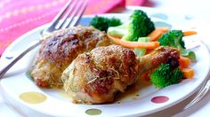 Pan-Roasted Chicken Pieces with Rosemary