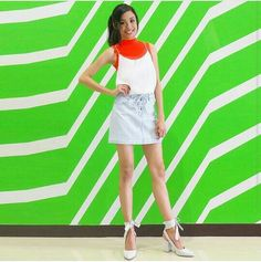 by Maymay Entrata Mini Skirts, Ootd, Fashion, Moda, Fashion Styles, Mini Skirt, Fashion Illustrations