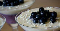 Här mina vänner, har ni en fantastiskt god och lyxig dessert med en skön kombination av blåbär, vit choklad och kardemumma. Rekommend...