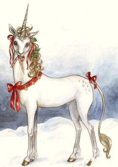candy cane unicorn