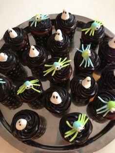 Läskiga cupcakes