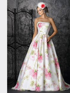 Très Chic Bridal and Evening Wear Strapless Dress Formal, Formal Dresses, Wedding Dresses, Chic, Color Splash, Bridal, Collection, People, How To Wear