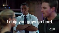 Diggle loves Olicity