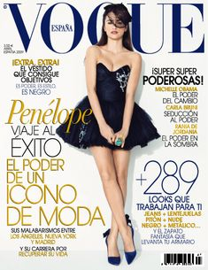 Revista Vogue Balance, Balance en la composición, unidad, contraste de colores en la tipografía, jerarquía..