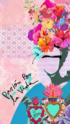 Wallpaper Backgrounds, Iphone Wallpaper, Mexican Art, Cute Wallpapers, Art Inspo, Illustration Art, Artsy, Drawings, Instagram