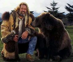 """CBS Studio Dan Haggerty talks about being Grizzly Adams, the Show and stars. Bozo who was actually female, played """"Ben"""", the companion to actor Dan Haggerty . Grizzly Adams, Le Grizzly, Great Beards, Old Shows, Hollywood, Vintage Tv, Vintage Trucks, Mountain Man, Old Tv"""