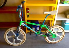 1985 Haro Master Acid Green Freestyler BMX Collectors Bicycle Bike
