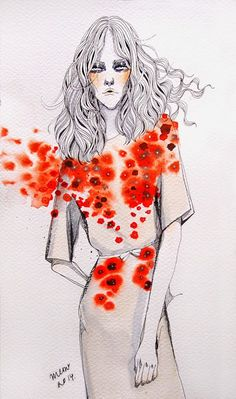 Me and a Cup of Hot Chocolate: Fashion Illustration Resort 2015