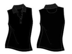 Canton Performance Basic Sleeveless Polo