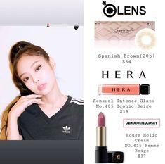 Jennie's Style Jennie's Outfit Jennie's Closet Jennie's Clothes Blackpink Fashion, Kpop Fashion Outfits, Makeup Storage Organization, Makeup Items, Jennie, Makeup Inspiration, Beauty Hacks, Make Up, Lipstick