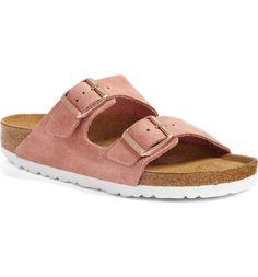 Main Image - Birkenstock Arizona Birko-Flor Soft Footbed Slide Sandal (Women)