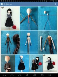 Beginner ideas for felting fairies – Artofit A basic wire doll body is also a good beginning wire craft project with a relatively low marginHere's a pic of all four of the dolls that I've been workinThis tutorial for a needle felted doll base I hap Yarn Dolls, Felt Dolls, Fabric Dolls, Doll Crafts, Diy Doll, Needle Felting Tutorials, Felt Fairy, Clothespin Dolls, Sewing Dolls
