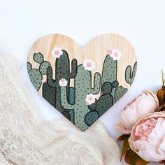 Cactus Gift Cactus Wall Art Cactus Painting Cactus Decor – From Parts Unknown Decoration Cactus, Cactus Craft, Cactus Gifts, Cactus Wall Art, Cactus Drawing, Cactus Painting, Painting On Wood, Drawing Drawing, Box Creative