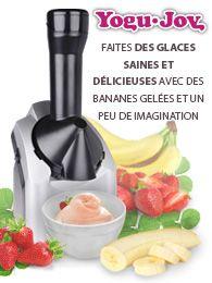 Faites des glaces saines et délicieuses avec des bananes gelées et un peu d'imagination !