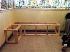 New booth seating in kitchen diy storage Ideas Corner Booth Kitchen Table, Booth Seating In Kitchen, Dining Booth, Corner Bench Seating, Kitchen Booths, Sofa Bench, Kitchen Banquette, Kitchen Benches, Bedroom Furniture Redo