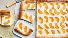 Persikka-rahkapiirakka | Makeat leivonnaiset | Yhteishyvä Bread, Ethnic Recipes, Food, Brot, Essen, Baking, Meals, Breads, Buns