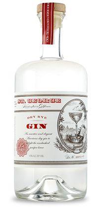 St. George Spirits :: Dry Rye Gin