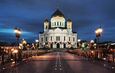 Cathedral of Christ the Saviour, Moscow.