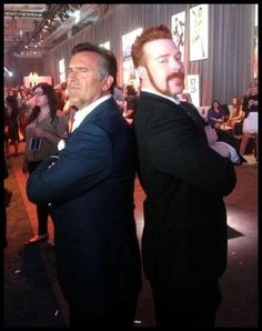 Sheamus and Bruce Campbell!