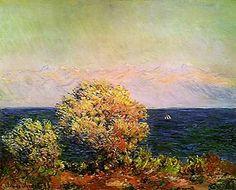 Antibes Seen from the Sailis Gardens, 1888...Monet