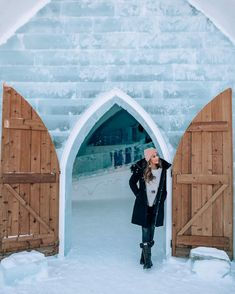 Ice Hotel Quebec - Cross Canada road trip. Click here for a list of the best road trips in the world to add to your travel bucket list. Get 13 road trip ideas for summer! #roadtrip #bucketlist #travel | worlds best road trips | best road trips around the world | best road trips in north america | bucket list destinations | bucket list travel | best places to visit | most beautiful destinations in the world | bucket list before I die | best places to go | best travel destinations in the world