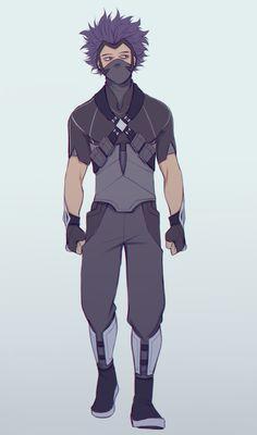 """Shinsou's Hero costume design """