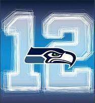 Seattle Seahawks' 12th Man!  Yayyy!