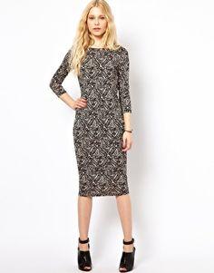 ASOS: River Island Column Midi Dress //  $41.56