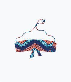 Image 1 de HAUT DE BIKINI IMPRIMÉ de Zara