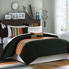 Maverick 3 Piece Comforter Bedding Set