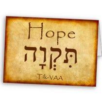 hope in hebrew | 2011 McKenzie College Sydney | Powered by Wordpress