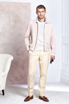 Dunhill Spring 2015 Menswear Collection Slideshow on Style.com