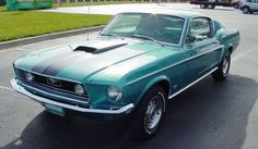 This looks so much like my beloved 1st car- THE GLARE! 1968 Mustang Fastback 289 Automatic Factory AC